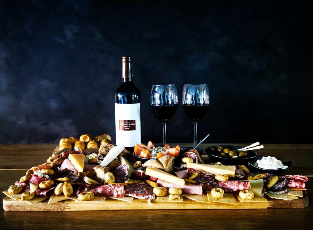 Wijn borrelpakket